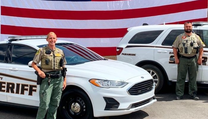 Honor Flight for Law Enforcement Appreciation Week at Davis County Sheriff's Office
